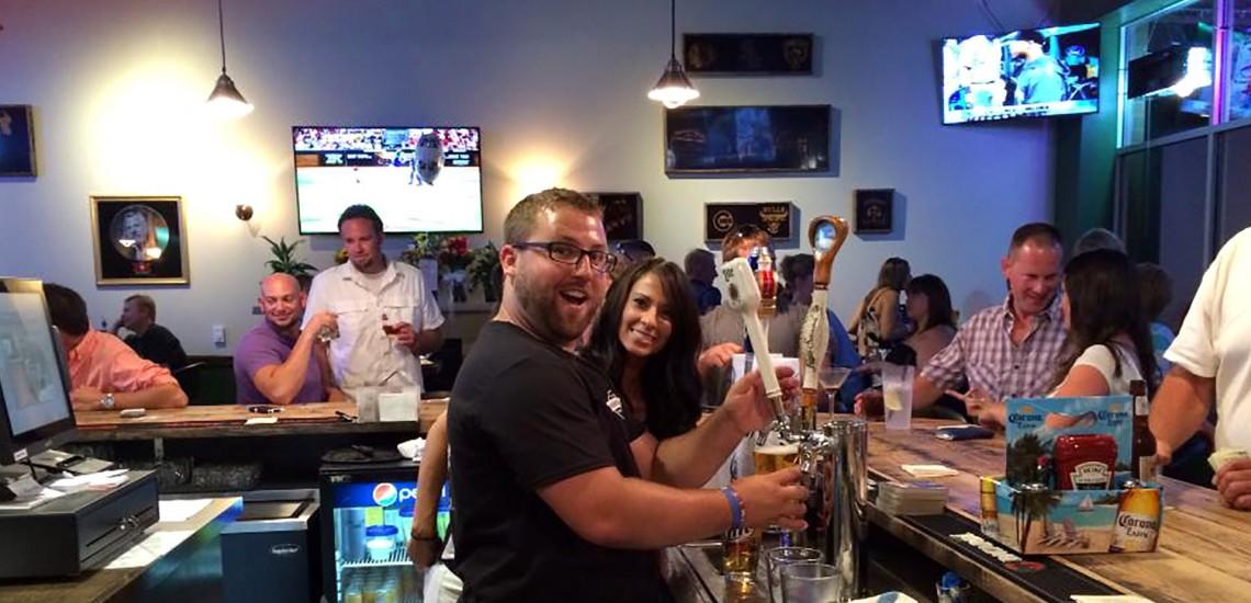 Bartenders Mason and Amanda